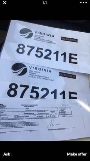 DMV for Sale in Washington, DC