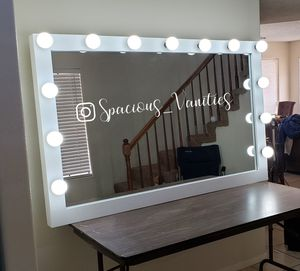 XXL makeup and hair vanity mirror 42x66 for Sale in Moreno Valley, CA