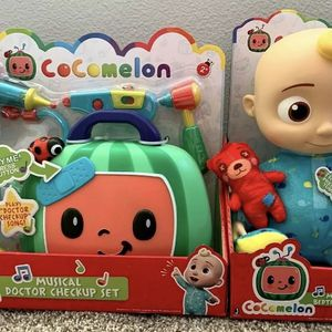 "New Cocomelon JJ 10"" Musical Bedtime Plush Doll & Doctor Checkup Bundle for Sale in Fremont, CA"