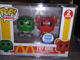 Brand New Fry Guys Funko Pop Limited Edition Mint State for Sale in Hacienda Heights,  CA