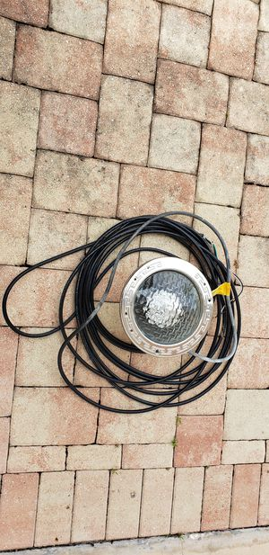 Pentair amerilite 100 watt 12volt pool light for Sale in FL, US