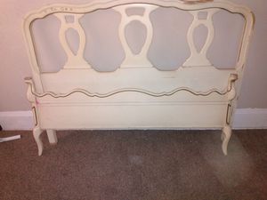 Original Bassett headboard and footboard full size bed with frame for Sale in Canton, OH