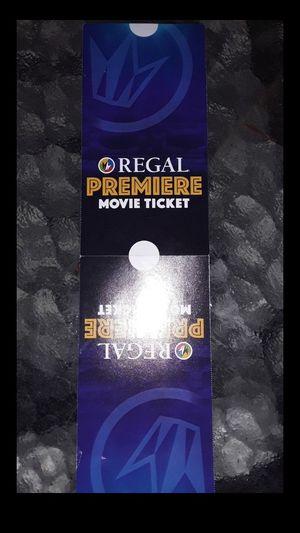 2 regal movie passes for Sale in Riverside, CA