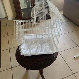 White Bird Cage for Sale in Cape Coral, FL