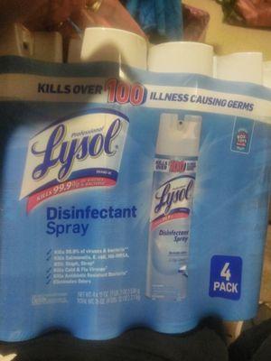 Lysol spray for Sale in Norfolk, VA