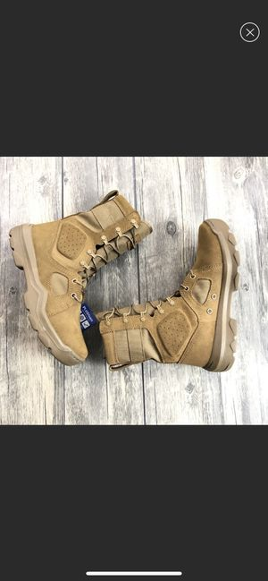 UNDER ARMOUR Tactical Boots Coyote Brown Men's 8 for Sale in Wayne, MI