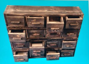 16 drawer hand made cabinet for Sale in Montgomery, PA