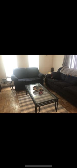 Living room set ( Sofa,loveseat, 2 end table & coffee table ) for Sale in Montgomery Village, MD