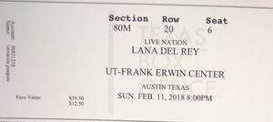Lana del Rey tickets for Sale in Austin, TX