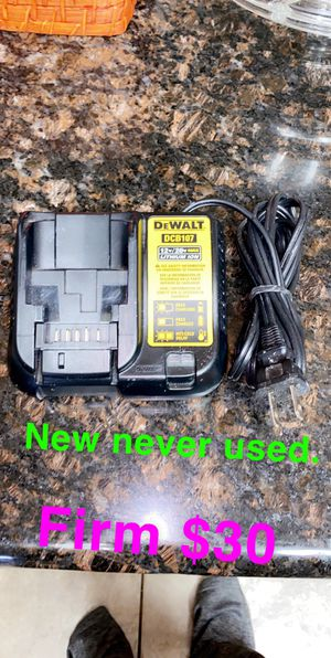 Dewalt Battery Charger New for Sale in Fresno, CA