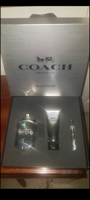 Coach New York Platinum Eau de Parfum for Sale in Moreno Valley, CA