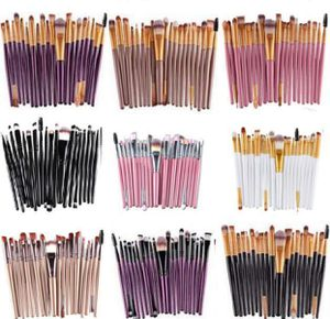 Set of Makeup Brushes pro 20 pieces Pink black white New for Sale in Kent, WA