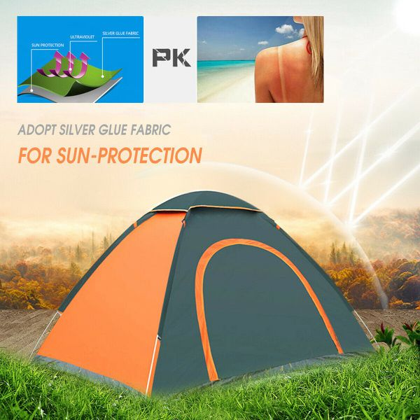 NEW Outdoor Auto Pop Up Tent Camping Folding Tent Quick Shelter Outdoor Hiking 2-3 Person