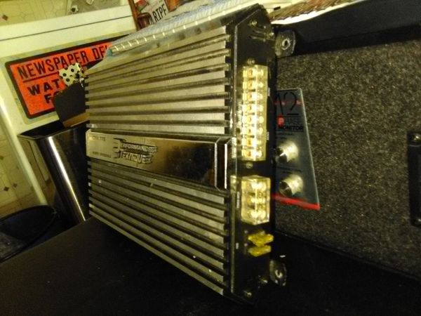 Teknique crossover amp nice unit