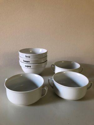 White Bowls for Sale in Arlington, VA