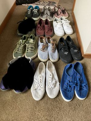 Make me an offer on this Assortment/Lot of 10 pairs of sneakers for Sale in Aurora, CO