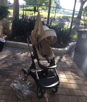Used Stokke stroller with accessories. for Sale in Boca Raton, FL