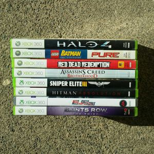 Microsoft XBOX 360 LOT Of 10 Games Look for Sale in Modesto, CA