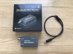 Blackmagic UltraStudio Mini Monitor for Sale in Queens, NY