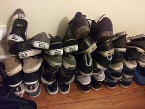 Vans collection 2 supreme pairs for Sale in Hayward, CA