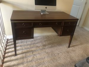 Mid century Drexel desk - mahogany wood for Sale in San Diego, CA