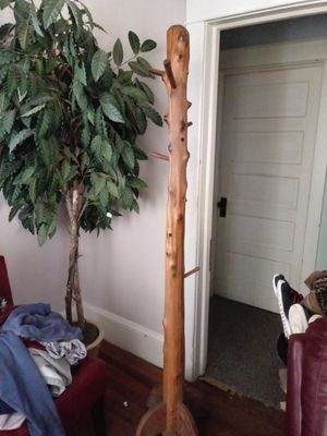 Cedar coat tree coat rack for Sale in Frederick, MD
