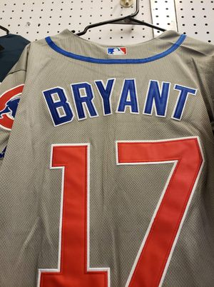 Chicago Cubs Baseball Jersey's - Bryant - Grey style for Sale in San Antonio, TX