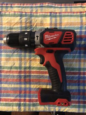 (2607-20) Milwaukee M18 Hammer Drill/Driver **TOOL ONLY, SOLO EL TALADRO** for Sale in Austin, TX