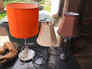 3 lamps for Sale in Commerce City, CO