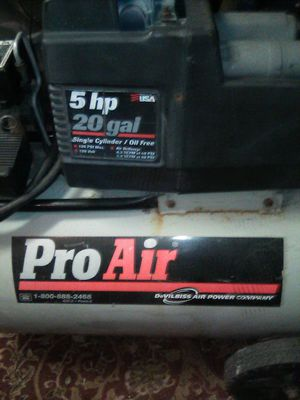 ProAir compressor for Sale in Spring Valley, CA
