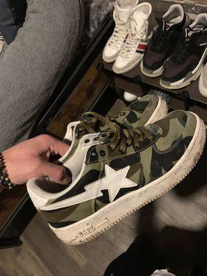 Bape Camo Sneakers for Sale in Boston, MA