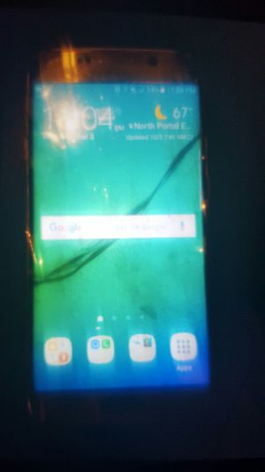 Galaxy s6 edge golden color. for Sale in Silver Spring, MD