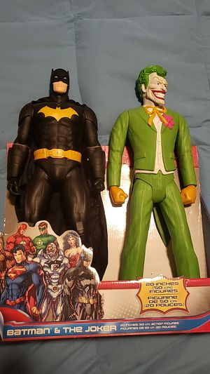 RARE BATMAN AND THE JOKER COMBO for Sale in Phillips Ranch, CA