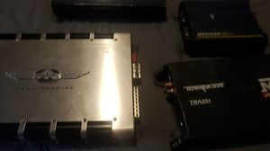 Car amplifiers kicker and more for Sale in Rock Hill, SC