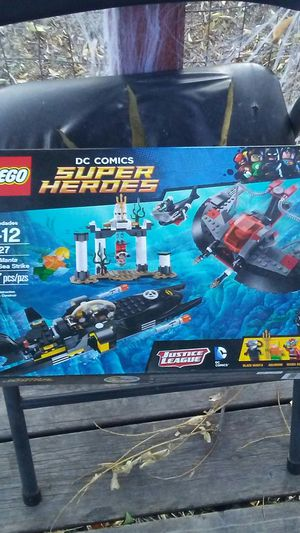 Lego dc comics super heroes black manga deep sea strike for Sale in Missoula, MT