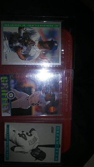 Ken griffey trading cards MINT for Sale in Huntington Beach, CA