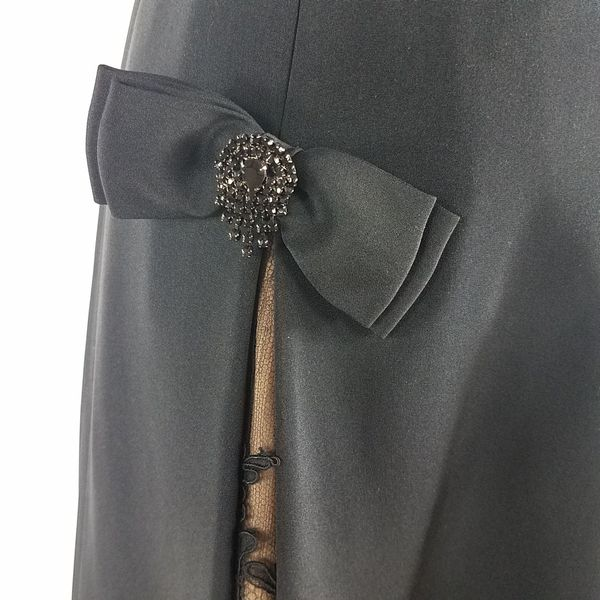 Black Cocktail Dress Albery Nipon (1022866)