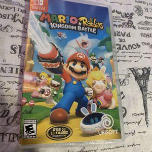 Mario Rabbids kingdom battle Nintendo switch for Sale in Milpitas, CA