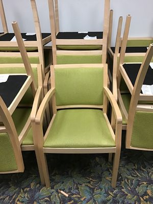Conference chairs $40 each for Sale in Avon, MA