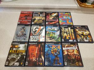 Playstation 2 Game Bundle x 13 - Metal Gear Solid, Tetris and More for Sale in North Las Vegas, NV