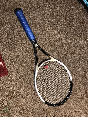 Wilson hammer 6.2 stretch tennis racket for Sale in Livingston, CA