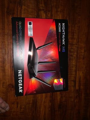NIGHTHAWK X4S AC2600 SMART WIFI ROUTER for Sale in Spring, TX