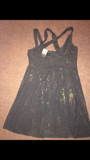 Torrid Brand Black and Gold dress size 1 (14/16) for Sale in Los Angeles, CA