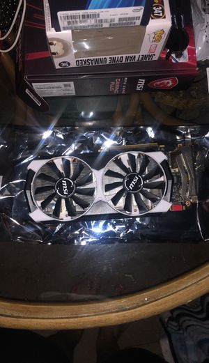 Gtx 960 4gd5t oc from MSI for Sale in Carnation, WA