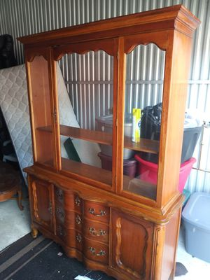 Antique china cab complete. Very good condition make offer for Sale in Detroit, MI