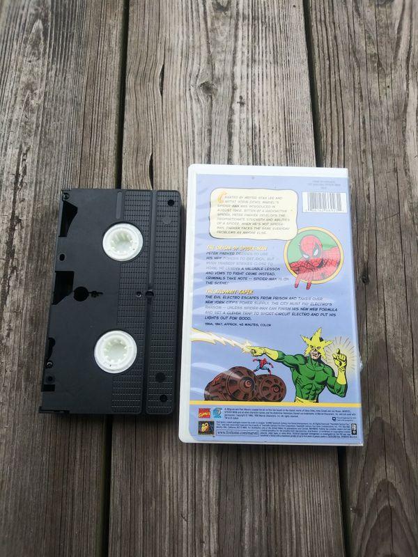 VHS Amazing Spiderman