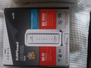 Arris Surf Board Wi Fi Router with Modem for Sale in North Providence, RI