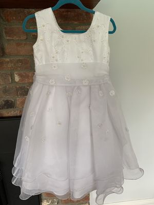 First Communion dress size 5 for Sale in NY, US