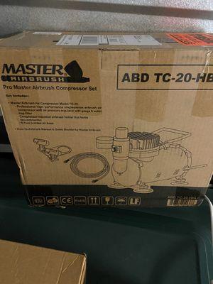 Air brush compressor set for Sale in Hatfield, PA
