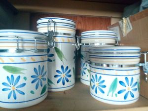Sugar/flour storage containers for Sale in Las Vegas, NV